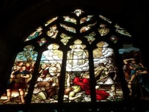 Okno v Katedrále St Giles